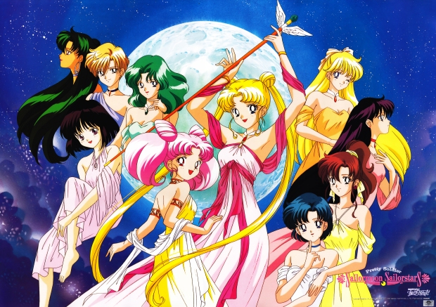 Official Sailor Moon Sailor Stars Poster by Movic