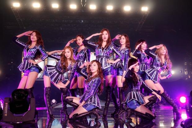 소녀시대 아레나 공연 사진
